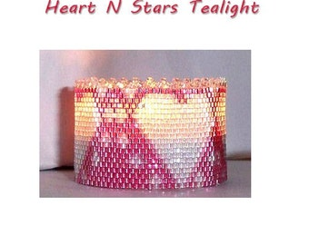 Heart n Stars Tealight