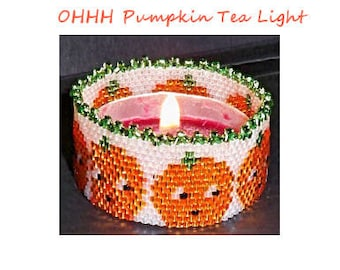 OHHHHH Pumpkin Tea Light Pattern