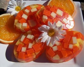 California Dreamin' Orange Handcrafted Soap