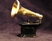 JUST FOR JENNIFER - Seven Miniature Phonograph Victor Victrola Talking Machine Record Player