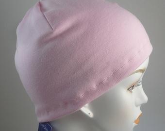 Ladies Pink Cancer Chemo Scarf Liner Sleep Cap