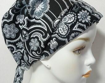 Womens Paisley Chemo Cancer Hair Loss Scarf Turban Hat Bad Hair Day Headcover Hairwrap