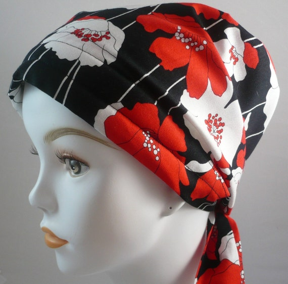 Poppy Hair Loss Cancer Hat Chemo Scarf Cap Head Wrap Alopecia