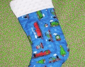 Reserved Listing For JANEL - Thomas the Tank Stocking