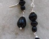 Classic Black Earrings