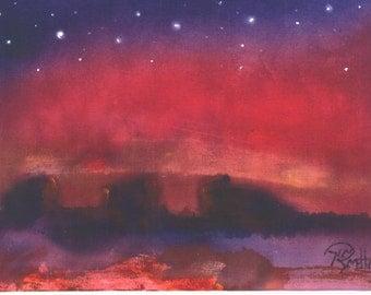 Desert Glow 5x7 celestial print