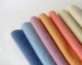 Wool blanket 8x8' squares craft recycled felt pack