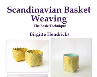 PDF ePattern Scandinavian Basket Weaving Basic Plait Technique