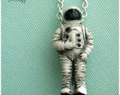 Astronaut, Clay (porcelain) miniature