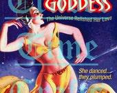Hot Dog Goddess Pulp Fiction Poster