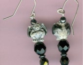 GARGOYLE Sterling Earrings - Very Cool