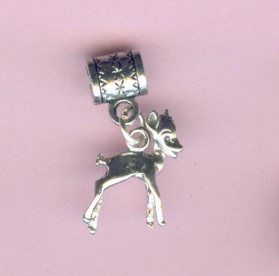 Deer Charm Bracelet Bambi Deer Pendant Charm