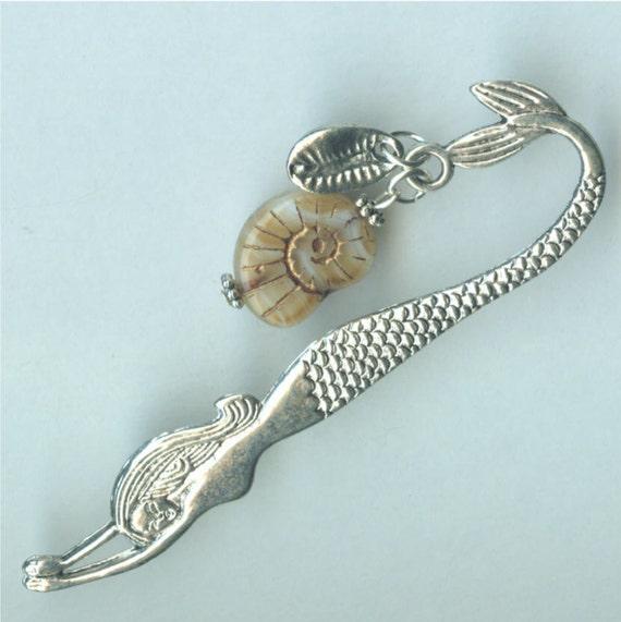 Mermaid Bookmark - Seashells