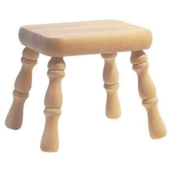 Shaker Footstool Kit NEW Ready to Assemble and Finish Kit