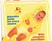Vintage McCalls Baby Knitting Design Ideas. Vol 15
