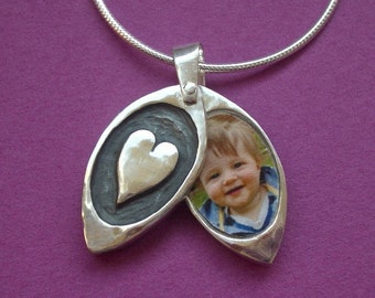 As Featured in Todays Parent  Love Locket  Fits Two photos