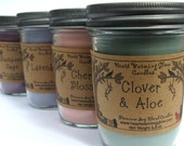 You Pick 2 Scents Soy Blend Jar Candles