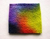 Felt Fabric Handmade Merino Wool Wet Felted Felt A3
