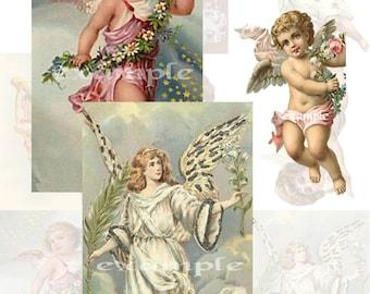 Angels Digital Collage Sheet 1