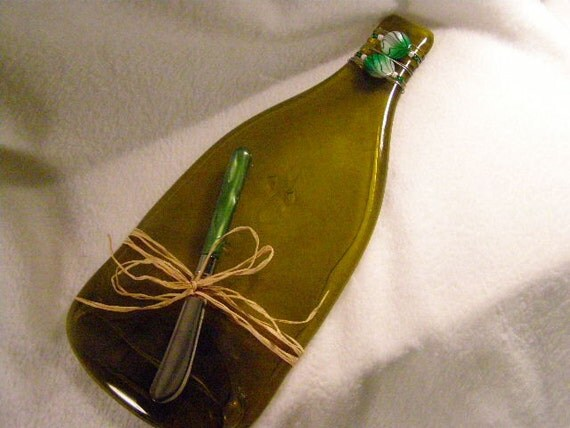 Recycled Wine Bottle Serving Tray