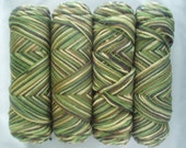 Super Saver Yarn CAMOUFLAGE 1 Pound 4 Ply Mill Grade 250 Coats and Clark