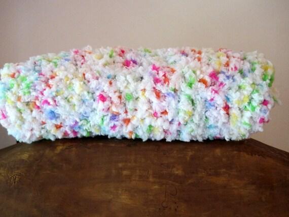 Crochet Baby Blanket Fluffy Baby Blanket Stroller Blanket
