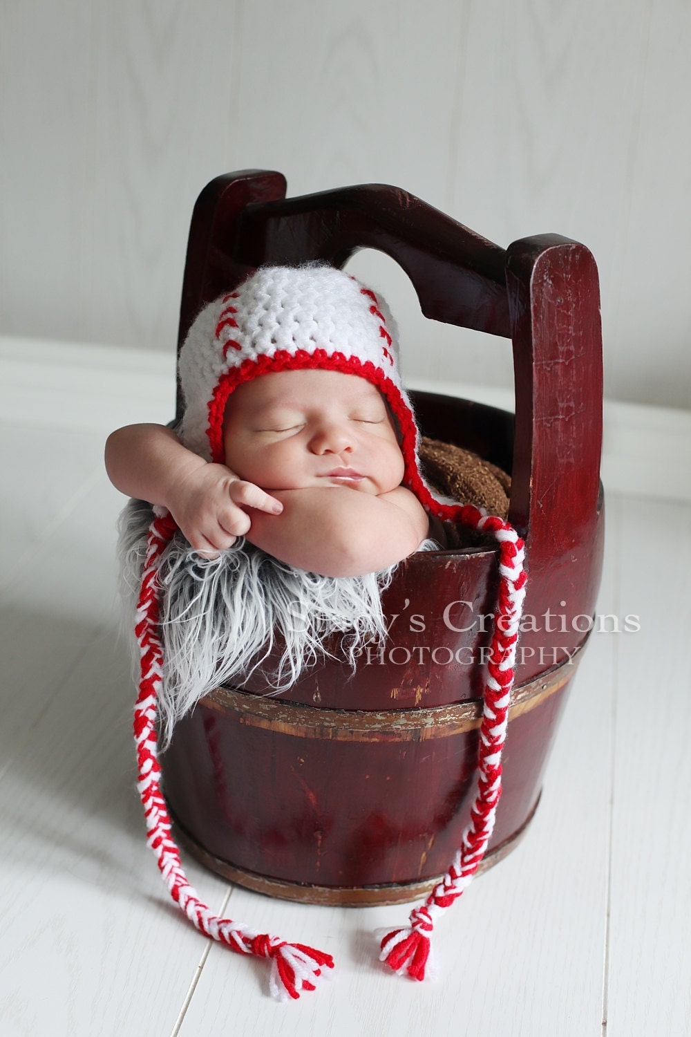 crochet baby baseball hat newborn sports hat boy baby hat