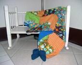 SALE Travel Blanket Quilt