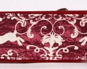 Run Little Rabbit Run - Red Martingale Collar