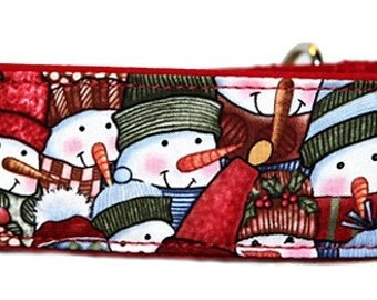 Snowmen Martingale Collar-