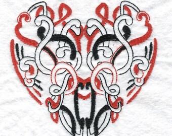 Celtic Hearts Machine Embroidery Designs