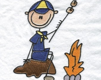 Cub Boy Scouts Machine Embroidery Designs