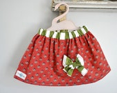 Sugar and Spice Bow Skirt Size 2T