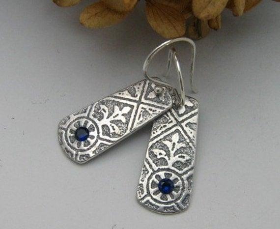 Potential Woman Fine Silver Earrings