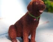 Custom Pet Portraits - Fiber Sculpture of your Dog, Cat or Horse