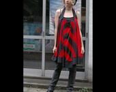 SALE ITEM - Striped halter dress - Size M