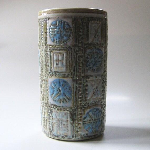 Aluminia Vintage Royal Copenhagen Fajance Vase
