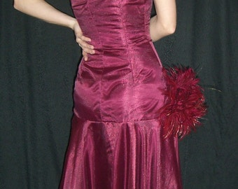 1920s inspired asymmetrical dress XS