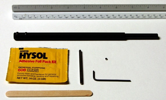Make Your Own Woodturning Tool-Small Hardware Kit in Black Oxide