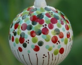Christmas Polka Dot Ornament