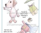An Underdog Paper Doll
