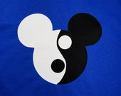 Personalized Custom Ying Yang Mouse Ears T Shirt