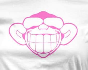 Funny Monkey Womens T Shirt
