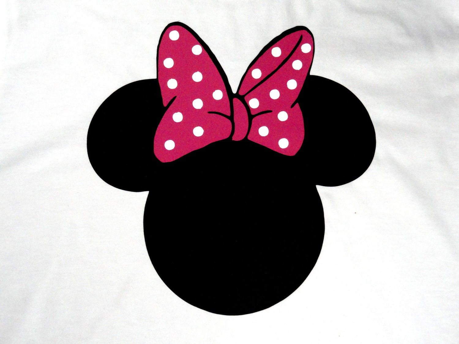 minnie mouse ears logo images. Black Bedroom Furniture Sets. Home Design Ideas