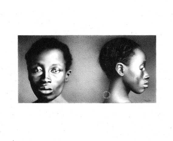 Delia, Daughter of a Slave - Pencil Drawing - Just a Number Series