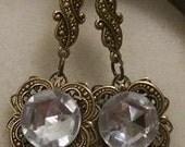 Ice princess earrings