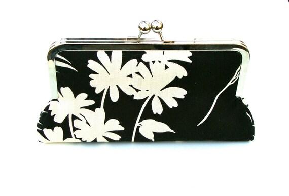 Julie Clutch, Handbag  Lined in Candy Apple Dupioni Silk