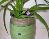SALE...Grace Vase in spring green