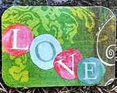 ACEO love-ly Artist Trading Card