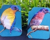 Two Lil Birds ACEO Card Set